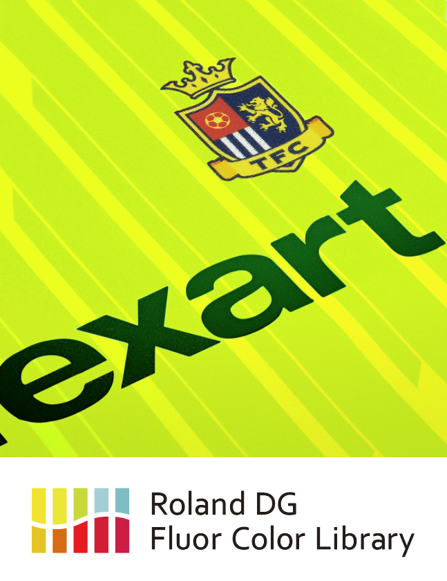 Roland DG Fluor Color Library
