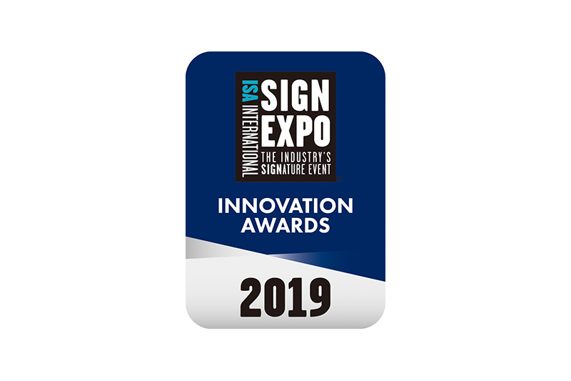 ISA International Sign Expo® 2019 Innovation Award Logo